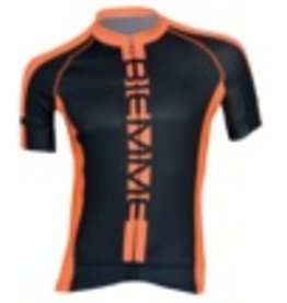 Biemme Biemme, Men's Jersey, Poison, Black/Neon Orange