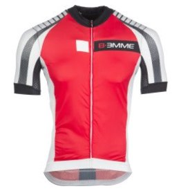 Biemme Biemme, Men's Jersey, Moody, Red/White/Black