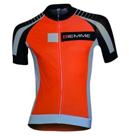 Biemme Biemme, Men's Jersey, Moody, Orange/Black