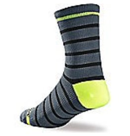 Specialized Specialized, Socks, SL Tall, Light Grey/Neon Yellow