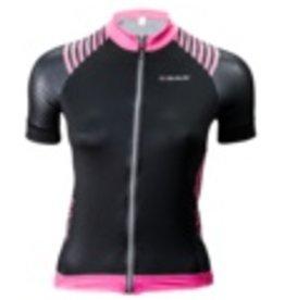 Biemme Biemme, Women's Jersey, Sharp, Black/Neon Pink