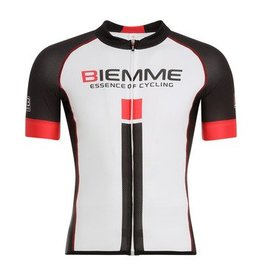 Biemme Biemme, Men's Jersey, Identity 18, White/Black/Red