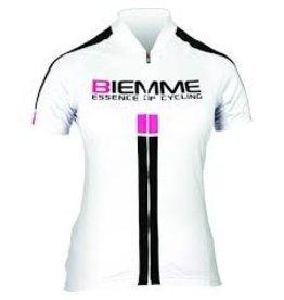 Biemme Biemme, Women's Jersey, Identity, White/Black/Pink