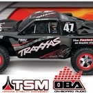TRA Slash 2WD, VXL OBA w/Audio & ID, 2.4GHz, #47 Mike
