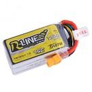 Tattu R-Line 1550mAh 4S1P 75C lipo battery pack with XT60 Plug