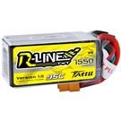 Tattu R-Line 1550mAh 95C 4S1P lipo battery pack with XT60 Plug