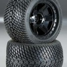 "PRO 1177-11 Road Rage 3.8"" Street Tires Mntd Fr/Re"