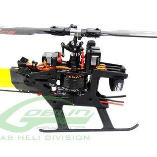 SAB Goblin Fireball 280 Combo - (1) Motor, (1) ESC, (4) Servos + Main & Tail Rotor Blades Included