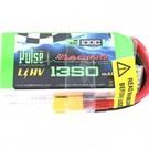 PULSE 1350mAh 4S 15.2V 100C - FPV Racing / Extreme Series - HV LiPo Battery