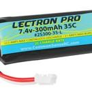lectron pro 7.4v 300mah 35c umx