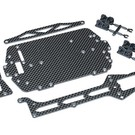 Traxxas LA TRAX CARBON FIBER CONVERSION KIT