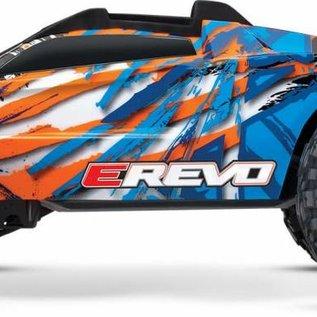 Traxxas E-Revo VXL 2.0 RTR 4WD Electric Monster Truck (Orange)
