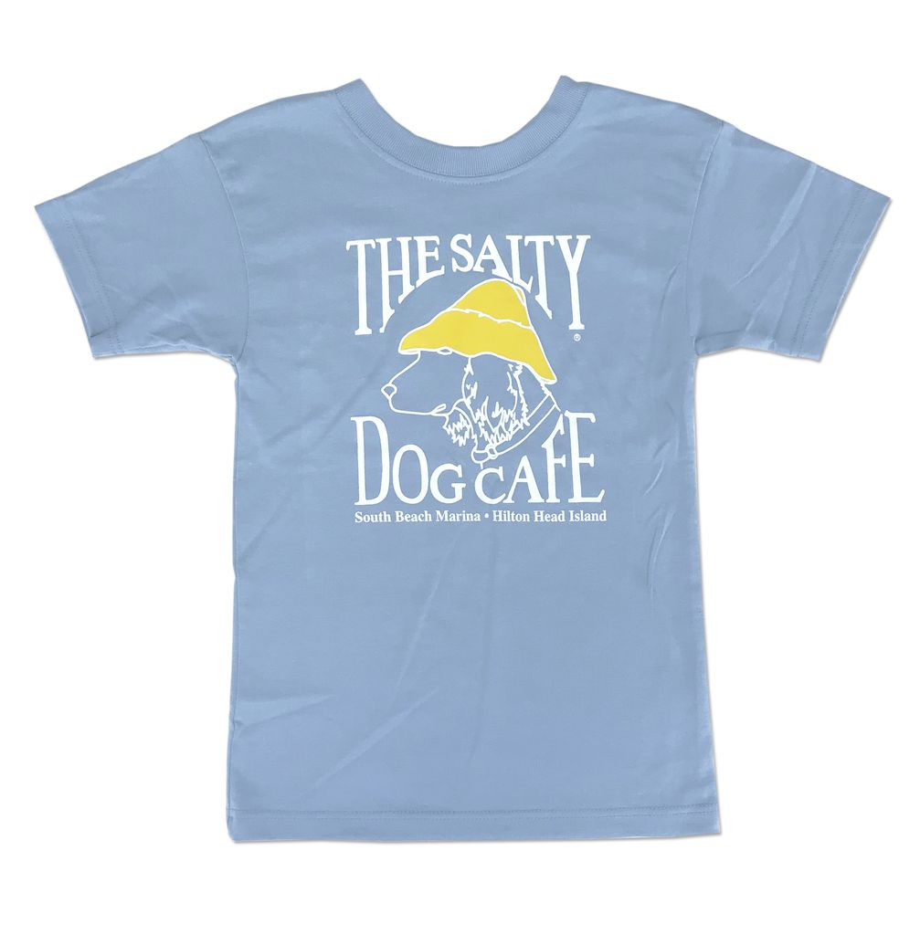T-Shirt EZTee Youth Classic Coastal Blue