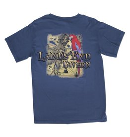 T-Shirt Land's End Tee in Blue