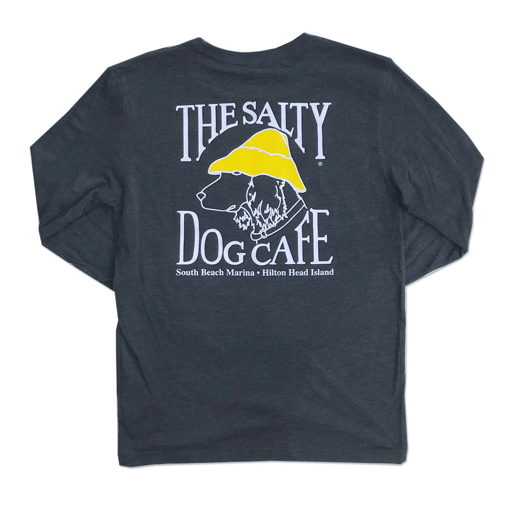 T-Shirt Triblend Long Sleeve in Vintage Navy