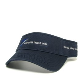Hat Blue Water Visor in Navy