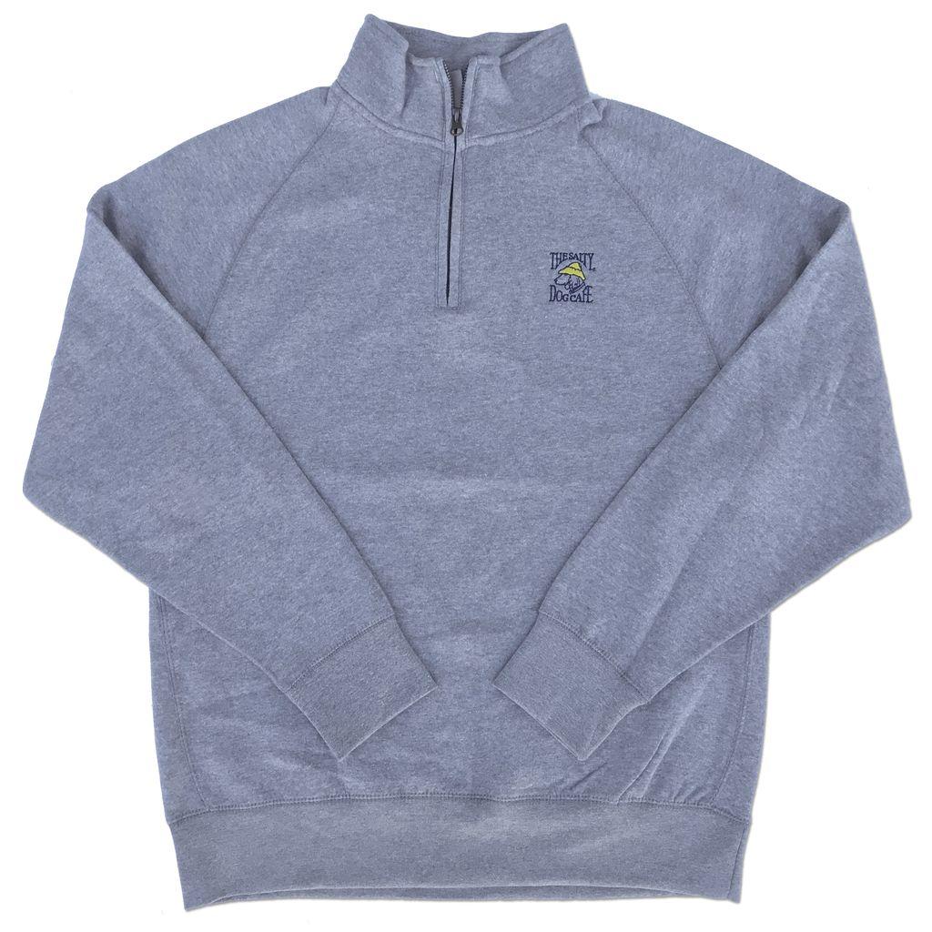 1/4 Zip in Charcoal