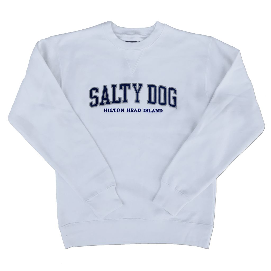 Sweatshirt Collegiate Sweatshirt in White