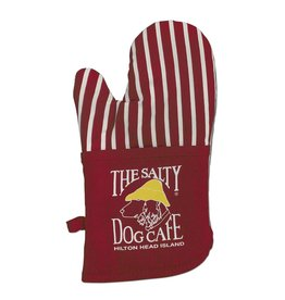 Specialty Items Oven Mitt in Red