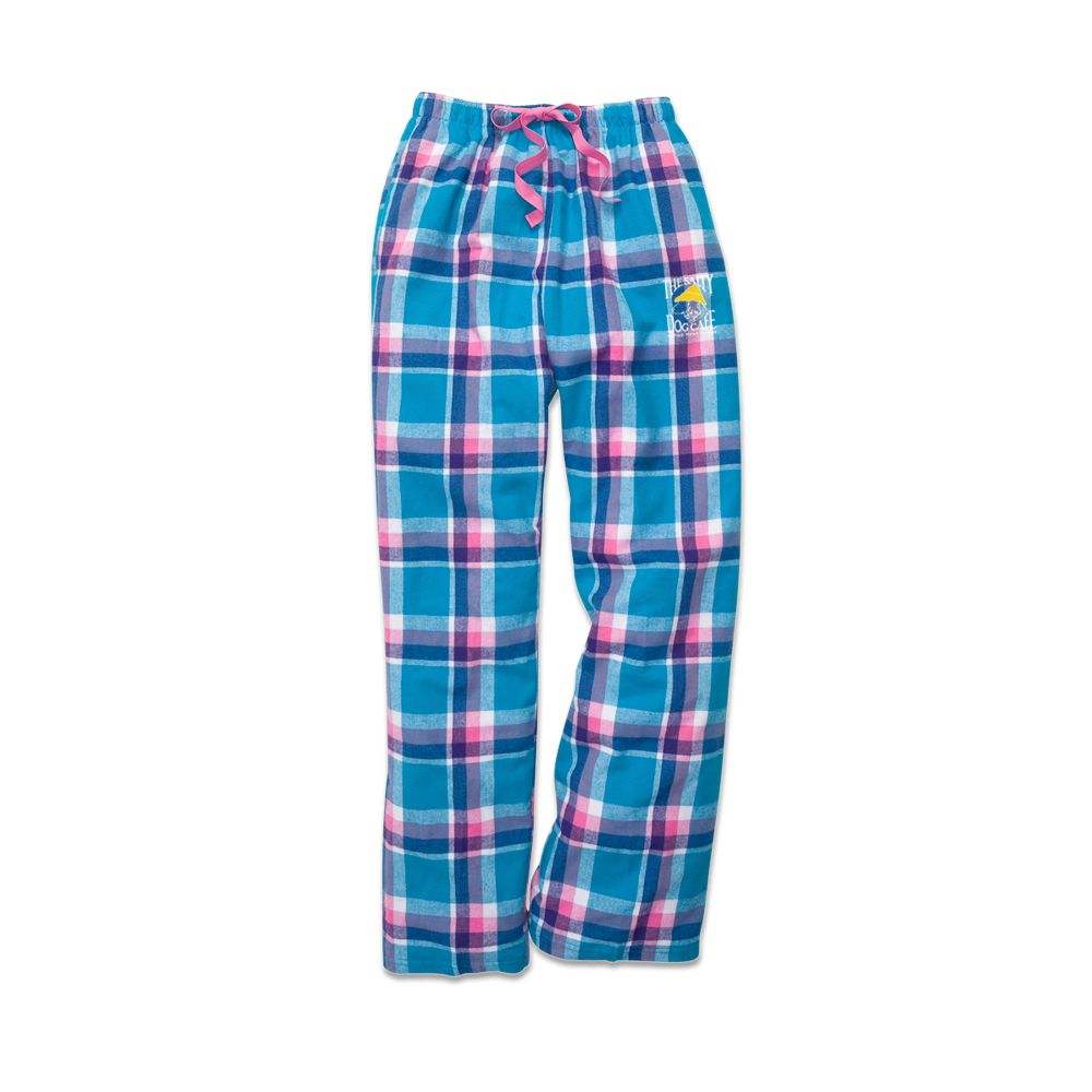 Boxercraft Youth Flannel Pants in Pacific Surf