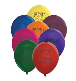 Product Balloons - 10 Assorted Colors per Pack