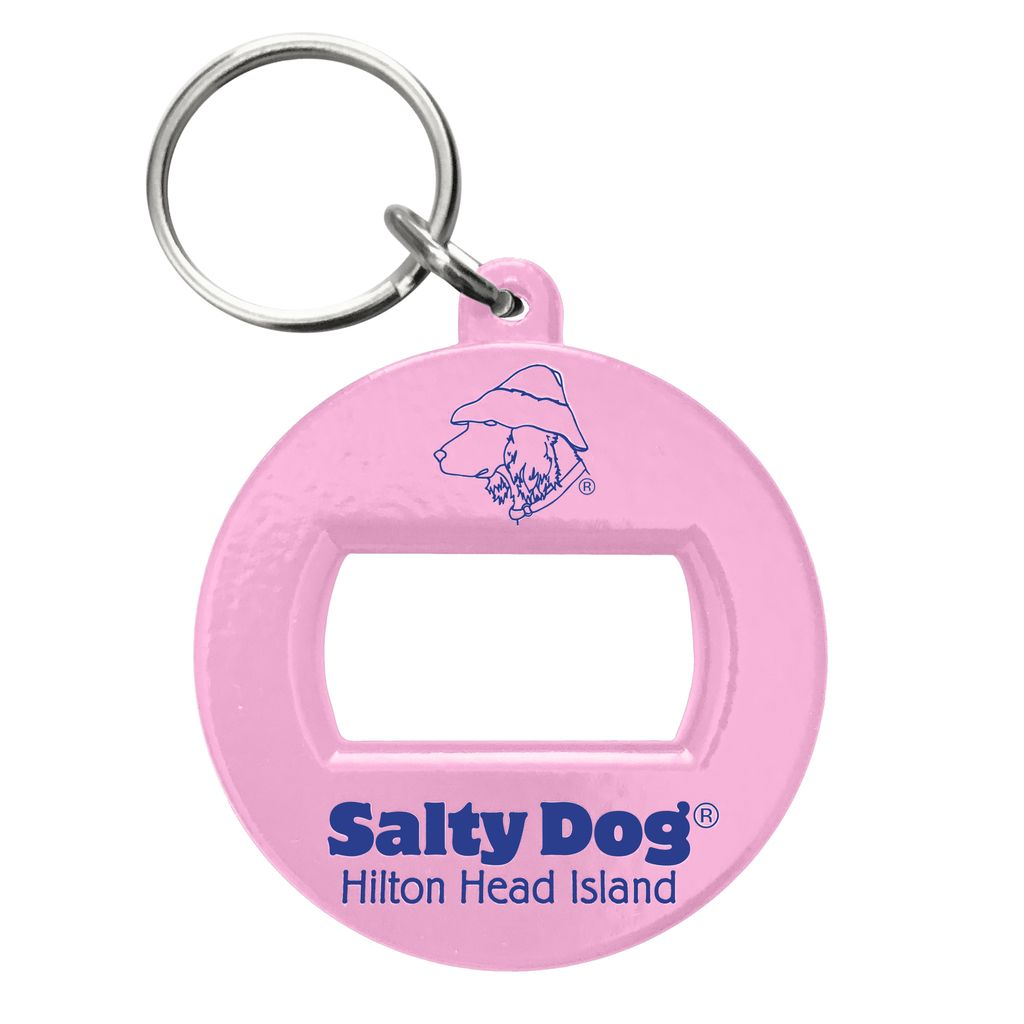 Salty Dog 3-in-1 Beverage Opener in Light Pink