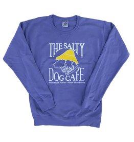 Sweatshirt Comfort Wash Sweatshirt in Deep Forte