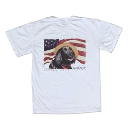 T-Shirt Diplomat Dog in White