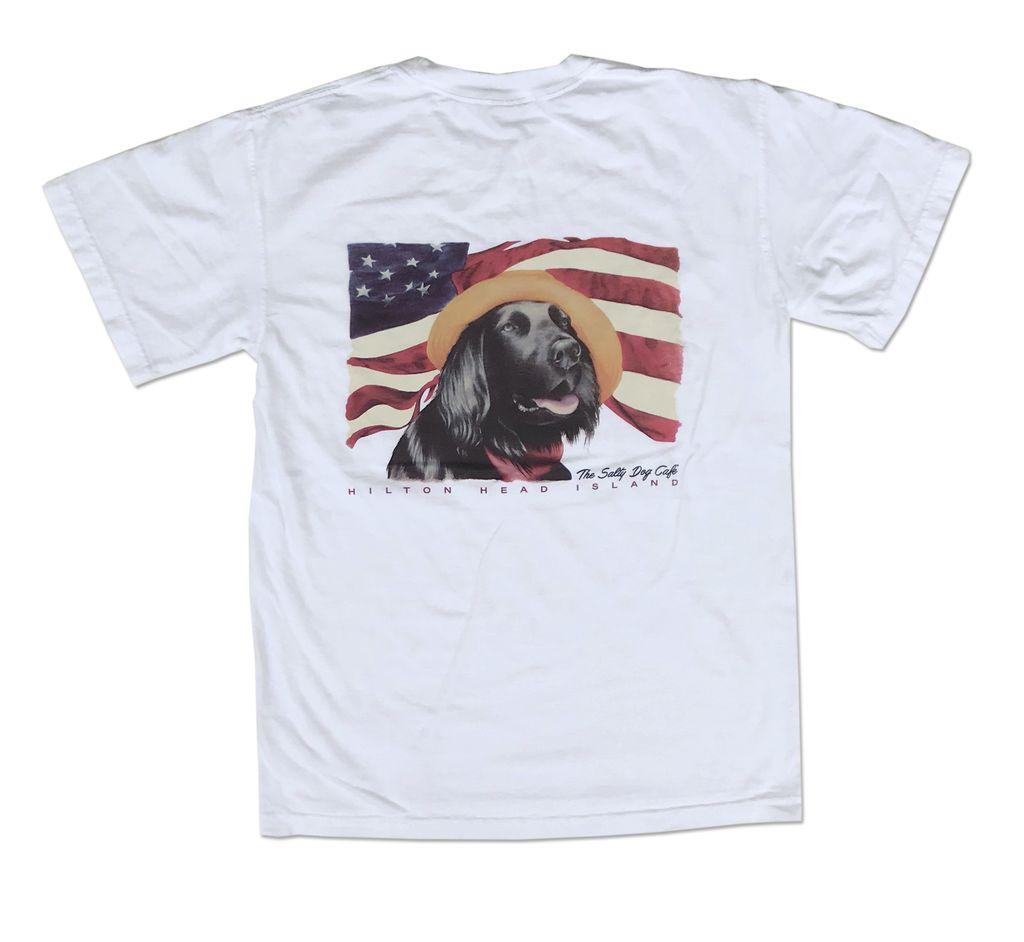 T-Shirt Diplomat Dog in White