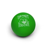Salty Dog Rubber Ball in Green