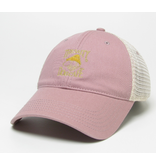 Hat Relaxed Twill Trucker Hat in Dusty Rose