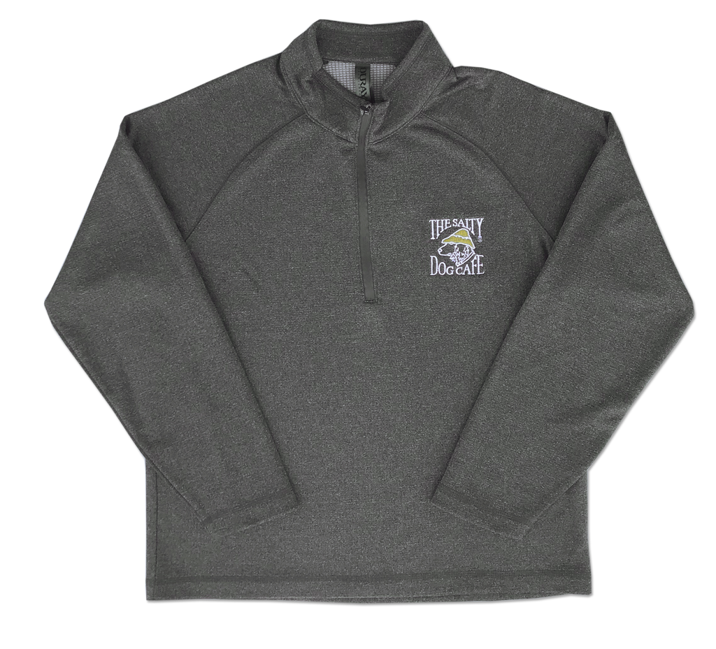 1/4 Zip in Athletic Heather