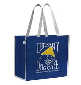 Salty Dog Nonwoven Tote in Blue