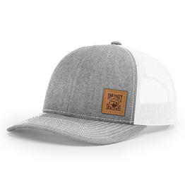 Hat Youth Leather Patch Trucker Hat
