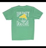 T-Shirt Garment Dyed Short Sleeve in Clover