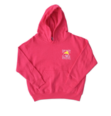 Sweatshirt Youth Hooded Pullover in Vintage Pink