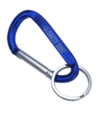 Product Key Chain Carabiner in Blue