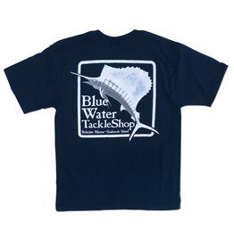 Bluewater Blue Water Bohicket Hanes Beefy in Navy