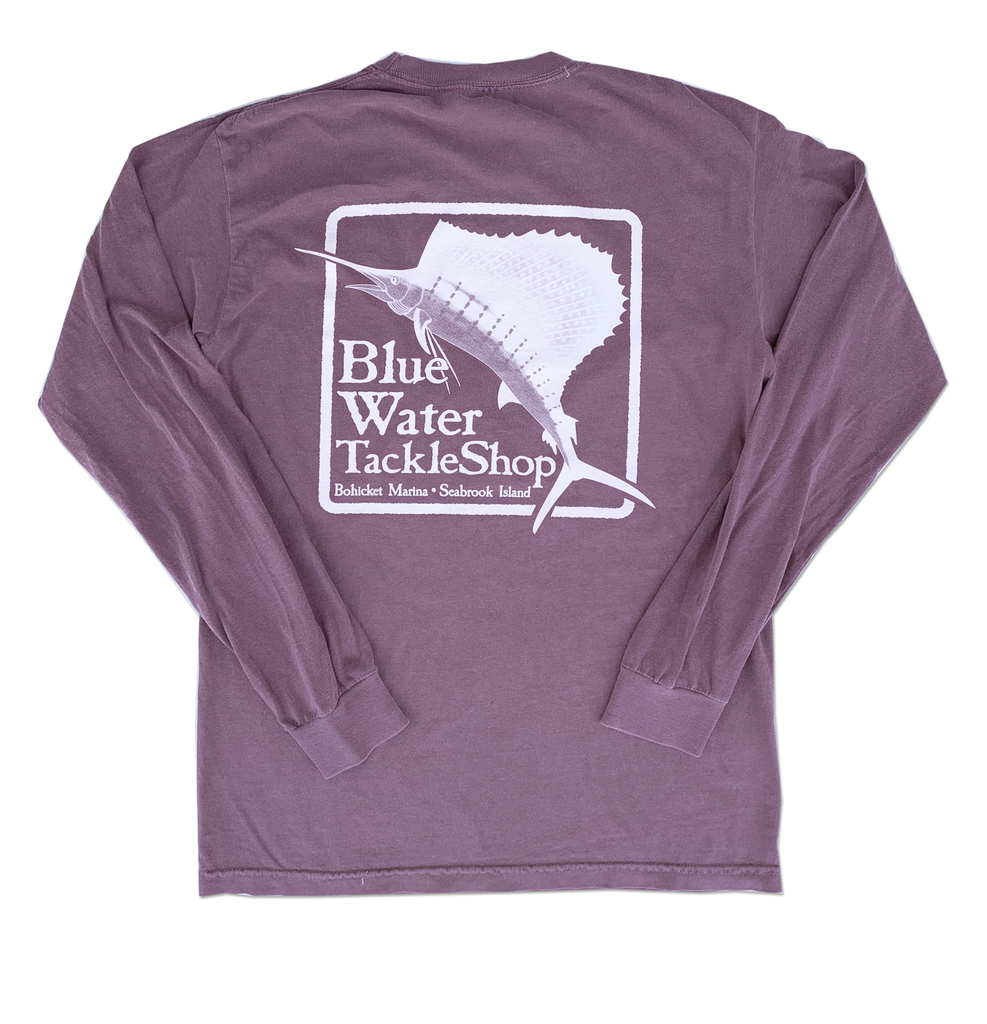 Bluewater Blue Water Bohicket Long Sleeve in Berry