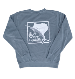 Bluewater Blue Water Bohicket Sweatshirt in Anchor Slate