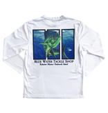 Bluewater Blue Water Bohicket Mahi Bull Performance Tee