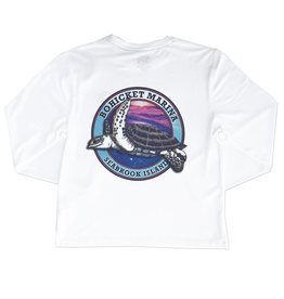 Bluewater Youth Blue Water Bohicket Turtle Performance Tee