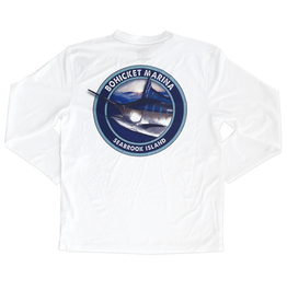 Bluewater Blue Water Bohicket Marlin Pro Performance Tee