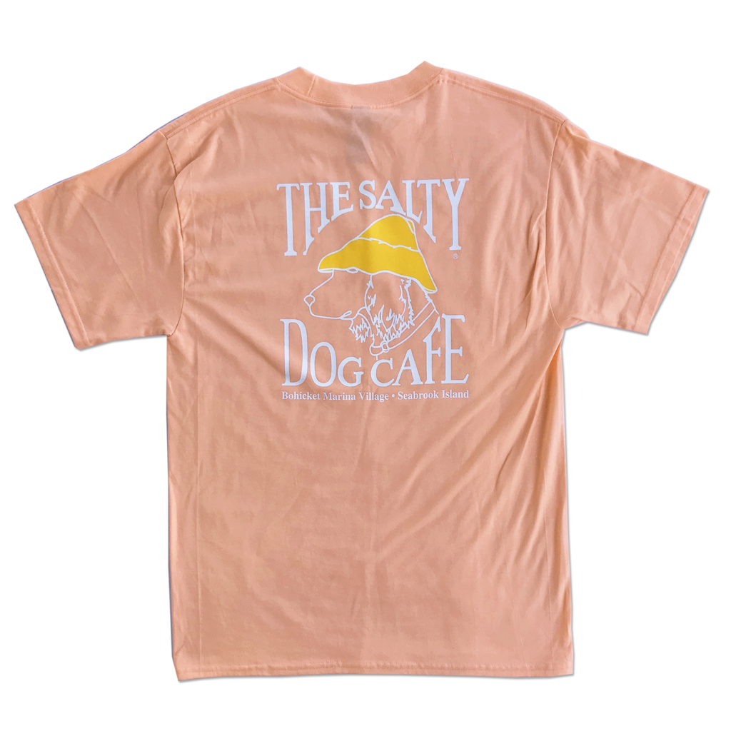 T-Shirt Bohicket Hanes Beefy Short Sleeve in Candy Orange