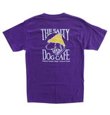 T-Shirt Bohicket Hanes Beefy Short Sleeve in Purple