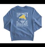 Sweatshirt Bohicket Champion Sueded Sweatshirt in Blue Jazz