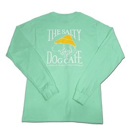 Hanes Hanes Beefy Long Sleeve Tee in Clean Mint