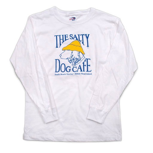 LAT Apparel Youth Long Sleeve in White