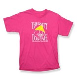 Hanes Hanes Beefy Youth Short Sleeve in Wow Pink