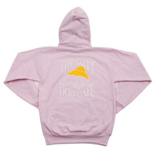 Hanes Hanes Hooded Sweatshirt in Pale Pink